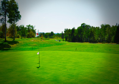 9-hole golf at Forest Ridge Golf Sudbury
