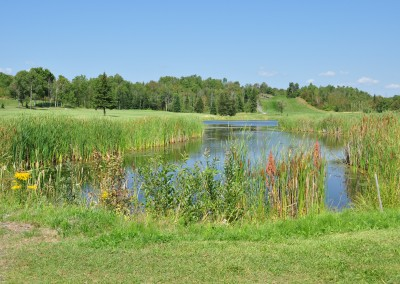 natural pond at Forest Ridge Golf and Country Club, Chelmsford, Greater Sudbury