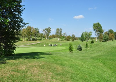Rolling hills on our challenging golf course at Forest Ridge Golf & Country Club in Chelmsford, Greater Sudbury