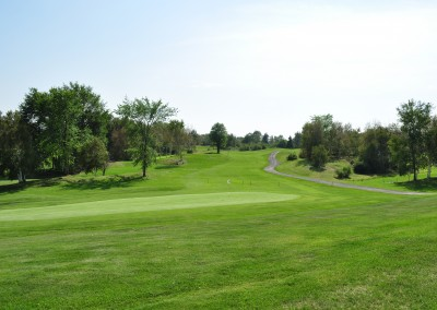 Out on the golf green at Forest Ridge Golf & Country Club in Chelmsford, Greater Sudbury