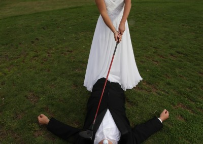 Forest Ridge Golf & Country Club - Funny golf wedding pictures.